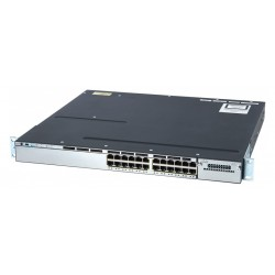 CISCO used Catalyst Switch 3750-X, 24 ports PoE, managed