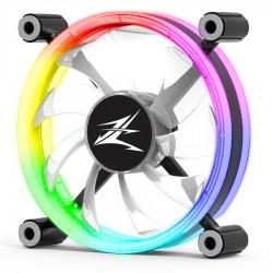 ZALMAN LED ανεμιστήρας ZM-LF120, 120mm, Double-Sided Ring, RGB