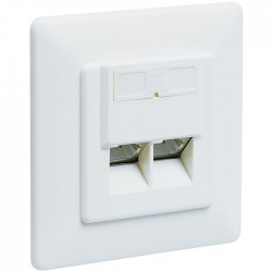 68246 CAT 6 DUP WHITE FLUSH MOUNT