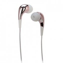 MELICONI MYSOUND SPEAK MIRROR ROSE/GOLD IN-EAR STEREO HEADSET (WITH MICROPHONE)