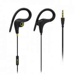MELICONI MYSOUND SPEAK FIT IN-EAR (HOOK) STEREO HEADSET (WITH MICROPHONE)