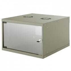 "INT 714792 FLATPACK 19"" 6U (353x540x560) BASIC WALLMOUNT CABINET GREY"