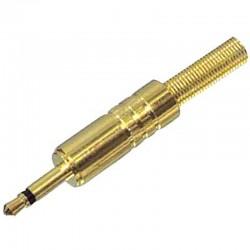 JC-030 3.5mm ΜΟΝΟ PLUG GOLD