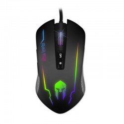 NOD IRON FIRE Wired Gaming Mouse, RGB LED