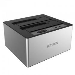 "IB-121CL-6G DOCKING AND CLONE STATION 2x2,5"" OR 2x3,5"" SATA HDD USB 3.0 J"