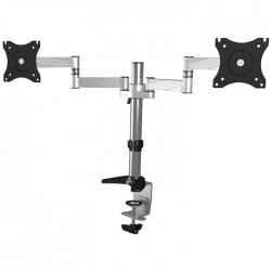 """ICY BOX IB-MS404-T Monitor stand with table support for two monitors up to 27"""" /"""