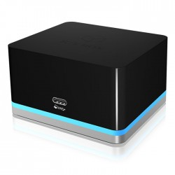 ICY BOX IB-DK2101-C Travel DockingStation for PC/Notebook and Windows 10 Smartph