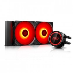 DEEPCOOL  GAMMAXX L240T RED CPU COOLER