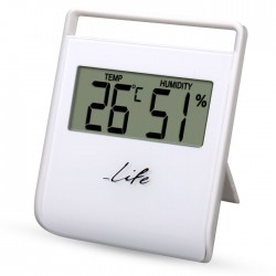 LIFE FLEXY Thermometer with hygrometer,White