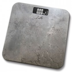 LIFE BSC-001 Bathroom scale with temperature,marble surface