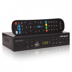 SONORA DVB-T2 H265 Digital Set-Top Box + 2IN1 REMOTE CONTROL
