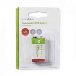 NEDIS BANM9HF91B Rechargeable Ni-MH Battery E-Block, 8.4 V, 250 mAh, 1 piece, Bl