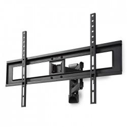 """NEDIS TVWM1550BK Full Motion TV Wall Mount, 37-70"""", Max 35 kg, 3 Pivot Points"""