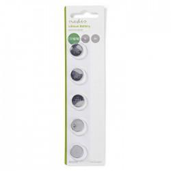 NEDIS BALCR16165BL Lithium Button Cell Battery CR1616, 3V, 5 pieces, Blister