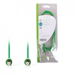 NEDIS CAGP22005GN10 Stereo Audio Cable, 3.5 mm Male - 3.5 mm Male, 1m, Green