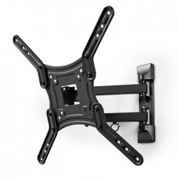 "NEDIS TVWM1530BK Full Motion TV Wall Mount 23-55"" Max 30 kg 3 Pivot Points"