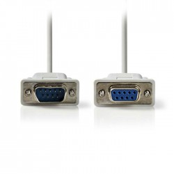 NEDIS CCGP52010IV20 Serial Cable D-Sub 9-pin Male - D-Sub 9-pin Female 2.0m Ivor