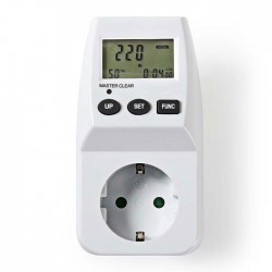 NEDIS ECOM01 Energy Consumption Monitor Digital 3600 W White