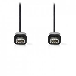 NEDIS CCGP37500BK20 Mini DisplayPort Cable Mini DisplayPort male-Mini DisplayPor