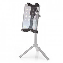 "NEDIS TTMT100BK Tablet Holder 12,5 - 24cm fits tripod with 1/4"" screw"