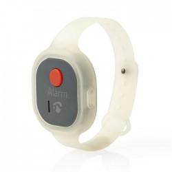 NEDIS ALRMPW20AT Personal Safety Alarm Waterproof Wrist Band Design = 85dB Alarm