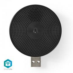 NEDIS WIFICDPC10BK Wireless Door Chime Accessory for WIFICDP10GY USB