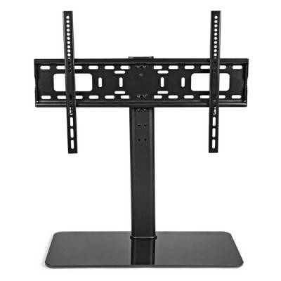 "NEDIS TVSM2030BK Fixed TV Stand 32-65"" Max 45 kg 4 Height Positions"