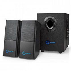 NEDIS GSPR10021BK Gaming Speakers 2.1 USB powered 3.5mm jack 33 W