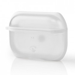 NEDIS APPROCE100TPWT AirPods Pro Case Transparent / White