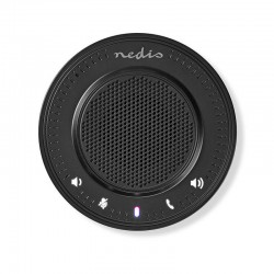 NEDIS CSPR10010BK Conference Speaker 2.5 W Touch Control USB-Powered Black