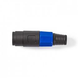 NEDIS COTP16901BK Speaker Connector Speaker 4-pin Male Black