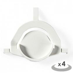 NEDIS WAFE110WH4B Adhesive Feet Tumble Dryer 4 pcs White