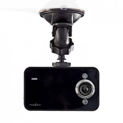 "NEDIS DCAM05BK Dash Cam HD 720p 2.4"" 60° Viewing Angle"