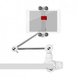 "NEDIS TDMT111WT Tablet and Smartphone Mount Foldable Arm 4 - 12"" Full Motion"
