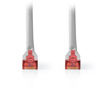 NEDIS CCGT85221GY30 Network Cable CAT6 S/FTP RJ45 Male RJ45 Male 3.0 m Grey