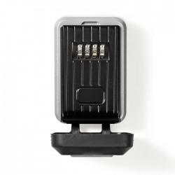 NEDIS KEYCC02BK Key Safe Combination Code Lock Aluminium Alloy Dust Cover